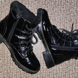 Ботинки - Ботинки мужские зимние 39 размер, 0