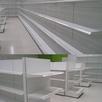 Стеллажи торговые для магазина (металлические) по цене 5000₽ - Витрины, фото 2