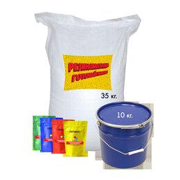 Садовые дорожки и покрытия - Резиновая крошка, комплект 5м2, цветная крошка, 0