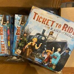 Настольные игры - Новая игра Ticket to ride: rails and sails, 0