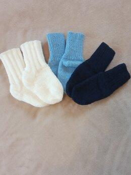 Носки - Вязаные носки, 0
