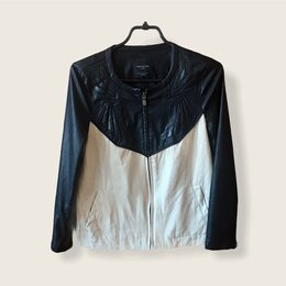 Куртки - Куртка женская Zara 42 кожанка, 0