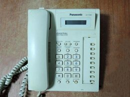 VoIP-оборудование - Цифровой системный телефон Panasonic KX-T7565RUW, 0