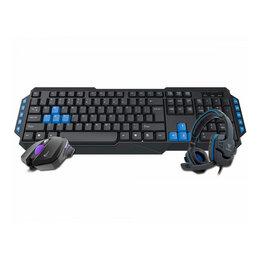Клавиатуры - Клавиатура/мышь/наушники GAMDIAS POSEIDON E1 Combo, 0
