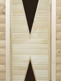 Двери - Банная дверь липа остекленная ПО-9, 0