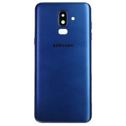 Мобильные телефоны - Задняя крышка Samsung Galaxy J8 (2018) SM-J810F (синий), 0