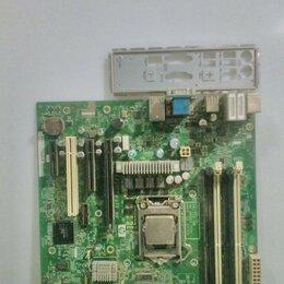 Материнские платы - Комплект сокет 1156 xeon x3450 (i7) и материнка HP, 0