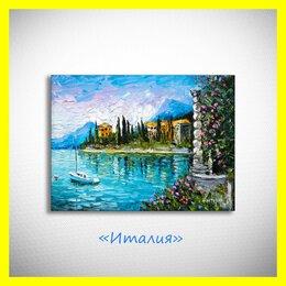 """Картины, постеры, гобелены, панно - 🎆Картина маслом """"Италия"""". Нестеров., 0"""
