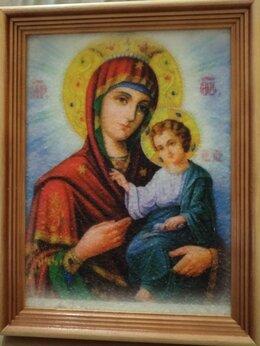 Картины, постеры, гобелены, панно - Богородица. Гибкий мрамор. Картина в рамке., 0