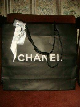Подарочная упаковка - Пакет для подарка большой черный Шанель Chanel…, 0