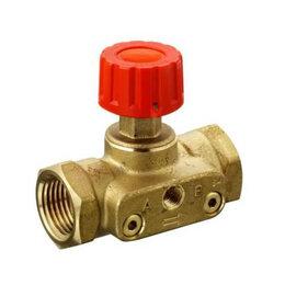 Запорная арматура - Ручной запорный клапан с наружной резьбой, 0