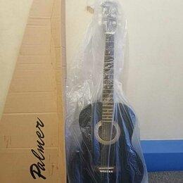 Акустические и классические гитары - Акустическая Гитара 4/4 Palmer PS-39M/BK Новая, 0