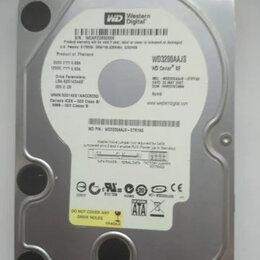Жёсткие диски и SSD - Жесткий диск WD3200aajs, 320гб, 0