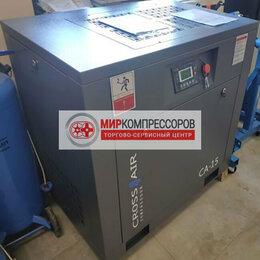 Производственно-техническое оборудование - Винтовой компрессор 15 кВт 2400 л/мин, 0
