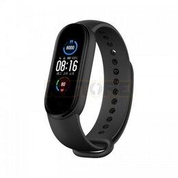 Умные часы и браслеты - Фитнес браслет Xiaomi Mi Band 5 черный, 0