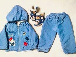 Комплекты верхней одежды - Раздельный комбинезон мальчику на 1 год, 0