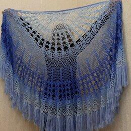 Шарфы и платки - Шаль  ,,Морозные узоры,, - размер 190×130 см.…, 0