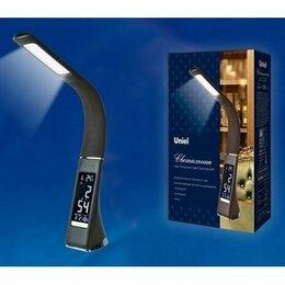 Настольные лампы и светильники - Светильник настольный Uniel TLD-542 5W(300lm) 5K, сенсор (КОД:632466), 0