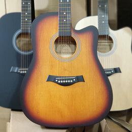 Акустические и классические гитары - Гитара дредноут цвет санбёрст матовая, 0