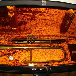 Тромбоны - Тромбон Bb помповый Amati, 0