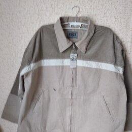 Куртки - Новая джинсовая куртка- великан 74 размера, 0