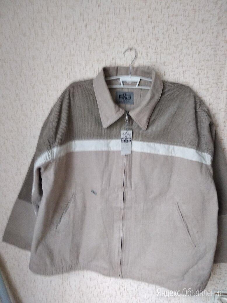 Новая джинсовая куртка- великан 74 размера по цене 2500₽ - Куртки, фото 0