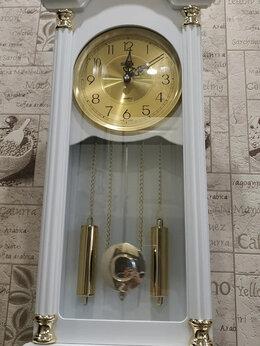 Часы настенные - Часы с боем настенные Sinix 2081GA W (Белые), 0