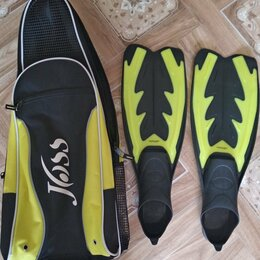 Аксессуары для плавания - Ласты и сумка для ласт, 0