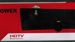Антенны - Цифровая комнатная антенна с усилителем сигнала 5v, 0