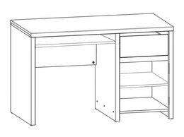 Столы и столики - Письменный стол Каспиан BIU 1D1S, 0