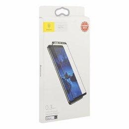Защитные пленки и стекла - Защитное стекло Samsung Galaxy S9 Baseus Arc-Surface (черный), 0