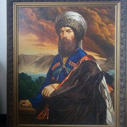 Картины, постеры, гобелены, панно - Картина Портрет Имама Шамиля, 0