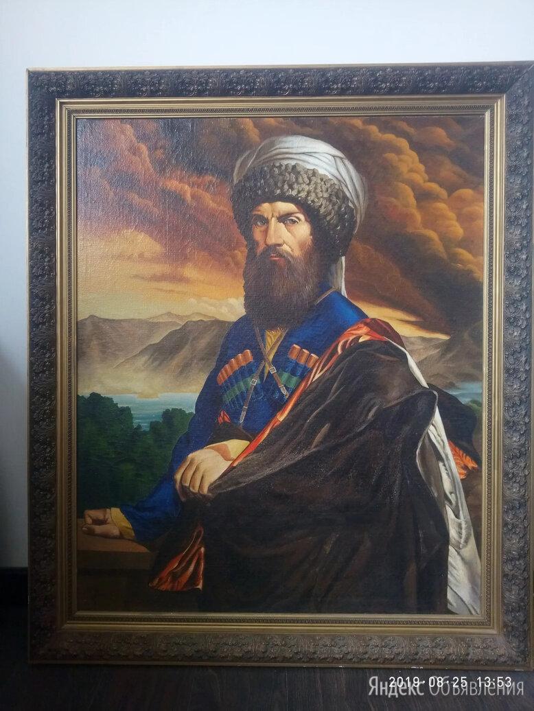 Картина Портрет Имама Шамиля по цене 300000₽ - Картины, постеры, гобелены, панно, фото 0