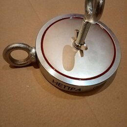 Металлоискатели - Поисковый магнит двухсторонний Непра 2f1000 , 0
