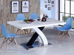 Столы и столики - Обеденный стол раздвижной 160-220 см белый ESF, 0