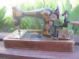 Швейные машины - старинная швейная машинка Зингер, 0