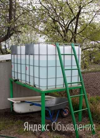 Емкости (бочки) для полива по цене 6000₽ - Теплицы и каркасы, фото 0