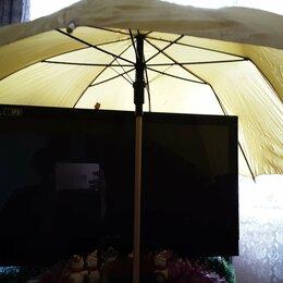 Зонты и трости - Канареечный зонт трость желтый Англия винтаж, 0