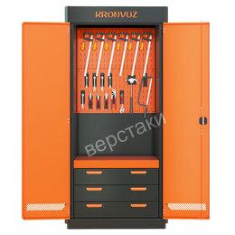 Шкафы для инструментов - Инструментальный металлический шкаф KronVuz Box 1312, 0