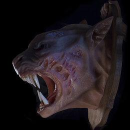 Рога, шкуры, чучела животных - Голова Оборотня. Трофей. Декорация, 0