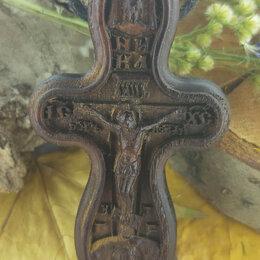 Кулоны и подвески - Нательный крест из дерева, 0