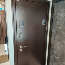 Входные двери - Дверь входная с терморазрывом BERSERKER крем ди, 0