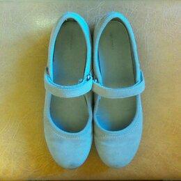 Балетки, туфли - Туфли балетки замшевые, 0