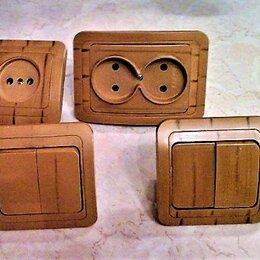 Электроустановочные изделия - Розетки, выключатели Makel (керамика) ,цвет - под дерево, 0