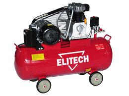 Воздушные компрессоры - Компрессор масляный ремен. Elitech КПР 100/550/3.0, 0