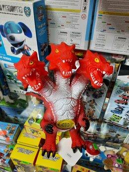 Игровые наборы и фигурки - Динозавр трёхголовый- Гидра- Змей Горыныч, 0
