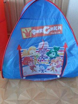 Игровые домики и палатки - Детская палатка с трубой , 0
