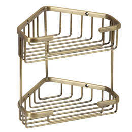 Полки, шкафчики, этажерки - Полка 18 см Basket Veragio VR.GFT-9053.BR, 0