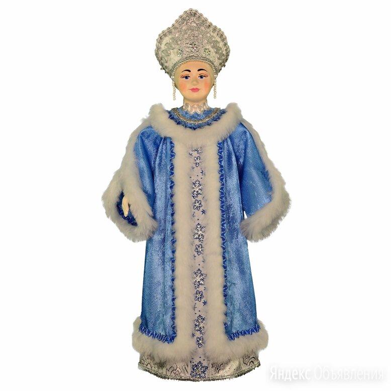 Русский подарок новогодняя кукла Снежная королева ручная работа по цене 2500₽ - Новогодние фигурки и сувениры, фото 0