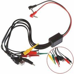 Кабели и разъемы - Испытательный комплект проводов с зажимами типа…, 0